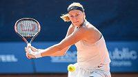 Petra Kvitová ve finále tenisového turnaje J&T BankaPrague Open.