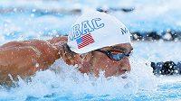 Americký plavec Michael Phelps během amerického šampionátu.