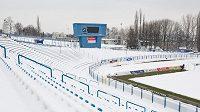 Zápas mezi Ostravou a Jihlavou se 1. dubna neuskutečnil kvůli hustému sněžení a nezpůsobilému terénu.
