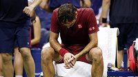 Je konec. Švýcar Roger Federer šestý triumf na US Open nezíská, prohrál s Australanem Johnem Millmanem.
