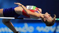 Mladá výškařka Michaela Hrubá do olympijského finále těsně neprošla.