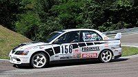 Tomáš Vavřinec s Mitsubishi Lancer míří za Pohárem FIA.