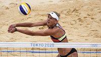 Němka Margareta Kozuchová se svou parťačkou Laurou Ludwigovou vypadly ve čtvrtfinále olympijského turnaje.