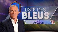 Trenér francouzské fotbalové reprezentace Didier Deschamps.