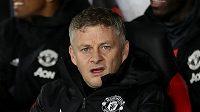 Kouč Manchesteru United Ole Gunnar Solskjaer.