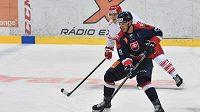 Slovenský hokejista Christán Jaroš.