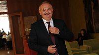 Šéf Teplic František Hrdlička během Valné hromady Fotbalové asociace.