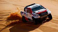 Fernando Alonso se chystá na Rallye Dakar.
