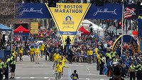 Bostonský maratón měl letos už 121. ročník.
