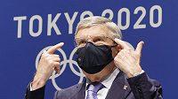 Předseda Mezinárodního olympijského výboru Thomas Bach (na snímku)