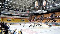Švýcarsko je další evropskou zemí, v níž se hokejová liga nedohraje.