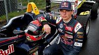 Šestnáctiletý nizozemský pilot Max Verstappen.