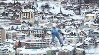 Trojice Roman Koudelka, Viktor Polášek a Čestmír Kožíšek tvoří nominaci českých skokanů na lyžích na nadcházející 69. ročník Turné čtyř můstků - ilustrační foto