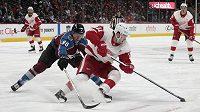 Pravé křídlo Detroitu Red Wings Filip Zadina si v utkání proti Coloradu Avalanche připsal premiérovou trefu v NHL.