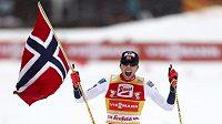 Jarl Magnus Riiber z Norska vyhrál Seefeld Triple.