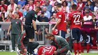 Záložník Corentin Tolisso bude Bayernu chybět hodně dlouho.