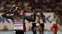Keňská běžkyně Vivian Cheruiyotová.