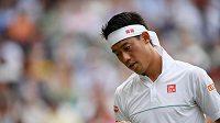 Japonský tenista Kei Nišikori měl pozitivní test na koronavirus a odhlásil se z turnaje Western & Southern Open.