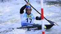 Vavřinec Hradilek na mistrovství světa ve vodním slalomu ve španělském La Seu d´Urgell.