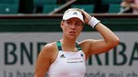 Světová jednička Angelique Kerberová nezvládla první kolo French Open.