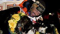 Vítěz tradičního březnového závodu psích spřežení Iditarod Nor Thomas Waerner.