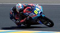 Jakub Kornfeil v motocyklové Velké ceně Francie třídy Moto3.