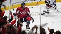 Ruský snajpr Washingtonu Capitals Alex Ovečkin na startu sezony NHL řádil.