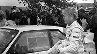 Legendární finský automobilový jezdec Hannu Mikkola.