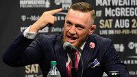 Já rozhodnu. Conor McGregor je svérazný zápasník, který má svoji hlavu.