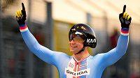 Dráhový cyklista brněnské Dukly Martin Čechman dosáhl vítězstvím na evropském šampionátu do 23 let v italské Fiorenzuole dosud největšího úspěchu v kariéře.