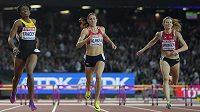 Česká běžkyně Zuzana Hejnová skončila na atletickém MS v Londýně v běhu na 400 metrů překážek na čtvrtém místě.