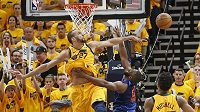 Basketbalové utkání - ilustrační foto.