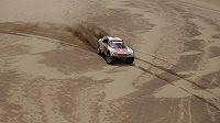 Cyril Despres z Francie během páté etapy Rally Dakar mezi Tupizou a Orurem.