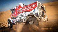 Aleš Loprais chystá na příští ročník Dakaru dva soutěžení kamiony.
