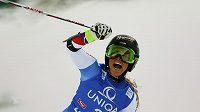 Švýcarská lyžařka Lara Gutová vyhrála obrí slalom v Lienzu.