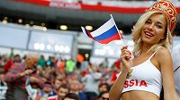 Rusové si užívají atmosféru začínajícího fotbalového mistrovství světa.