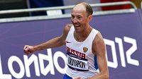 Ruský chodec Sergej Kirďapkin
