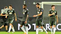 Zklamaní fotbalisté Manchesteru United do finále Evropské ligy nepostoupili.