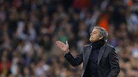 Kouč Realu Jose Mourinho je před odvetou optimista.