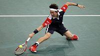 Japonský tenista Kei Nišikori.