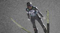 Rakouský skokan na lyžích Gregor Schlierenzauer v Lillehammeru.