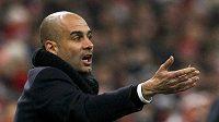 Kouč Josep Guardiola bral porážku 2:3 od Manchesteru City pozitivně.