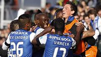 Fotbalisté FC Porto ovládli portugalskou nejvyšší ligu.