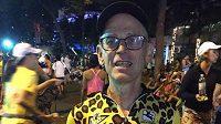 Američan Mike Nusblat má 63 let, už má v nohách 103 maratónů, většinu pod 4 hodiny.