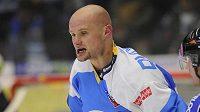 Plzeňský útočník Michal Dvořák dostal trest 5 + 20 minut za hrubost.
