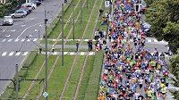 Na trati olomouckého půlmaratónu