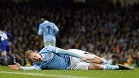 Záložník Manchesteru City Kevin De Bruyne si od fotbalu odpočine.