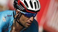Vincenzo Nibali na trati letošní Tour de France.