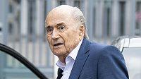 Bývalý šéf FIFA Sepp Blatter na snímku ze září 2020.