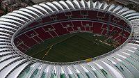 Stadión v Porto Alegre bude hostit účastníky MS 2014.